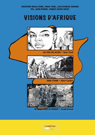 Couverture Visions d'Afrique