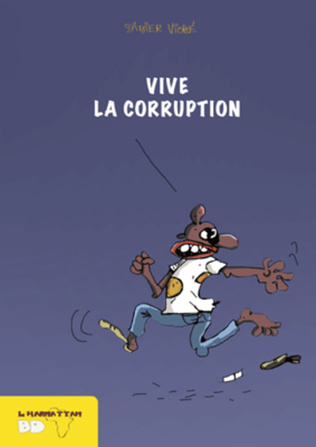Couverture Vive la corruption