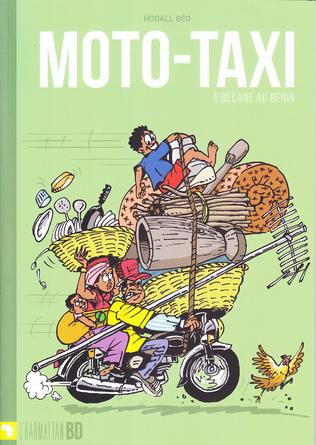 Couverture Moto-taxi à bécane au Bénin