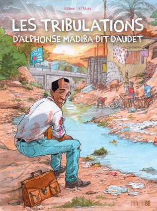 Couverture Les tribulations d'Alphonse Madiba dit Daudet