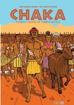 Couverture Chaka d'après l'oeuvre de Thomas Mofolo