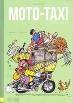 Moto-taxi à bécane au Bénin -