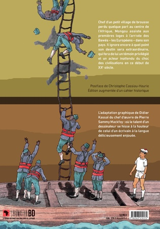 4eme L'Odyssée de Mongou. Nouvelle édition
